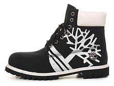 Timberland Boots with logo.