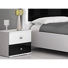 Noční stolek ROMA Idzczak 40/45/40 Bed, Furniture, Home Decor, Stream Bed, Interior Design, Home Interior Design, Beds, Arredamento, Home Decoration