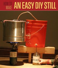 Looking for plans on how to make a Still? Find this and 100's of other survivalist tutorials, photos, video and other DIY survival projects on our blog.