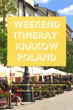 Weekend Itinerary for Krakow, Poland - Our itinerary for Krakow covered four days, including a weekend. We tried to cover both culture sit - Top Europe Destinations, Europe Travel Guide, Travel Guides, Travel Advice, European Travel Tips, Travel Through Europe, Poland Travel, Macedonia, Albania