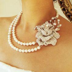 vintage jewelry   Vintage Bridal Jewelry