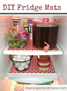 Organize your fridge tutorial and 45 of the BEST Home Organizational & Household Tips, Tricks & Tutorials with their links!! Party and event prep, too!  from MrsPollyRogers.com