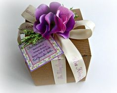 Gourmet Soap and Body Butter Gift Set gift wrapped by AbbeyJames, $18.99