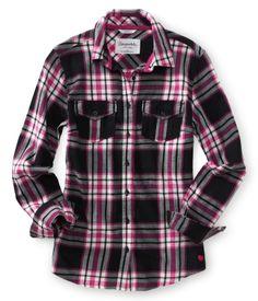 Long Sleeve Julia Plaid Woven Shirt