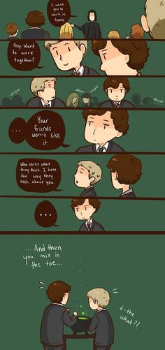 There are few things I love more than Potterlock.