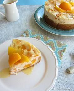 Cheesecake de Pêssego Melba