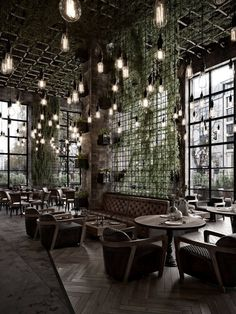Qatar Calm Street Cafe on Behance Decoration Restaurant, Deco Restaurant, Cafe Shop Design, Coffee Shop Interior Design, Cafe Interior Vintage, Modern Restaurant Design, Design Café, Menu Design, Industrial Cafe