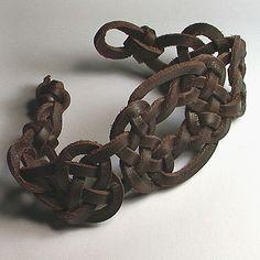 Celtic Knot Bracelet - I wish I could get a belt kind of like this sometime.