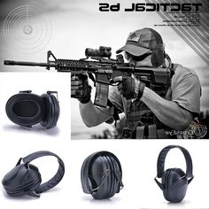 39.00$  Buy now - http://ali8gj.worldwells.pw/go.php?t=32720290452 - Sonudproof Hearing protection Noise Blocking earmuffs Outdoor tactical  shooting protection noise reduction earmuff 39.00$