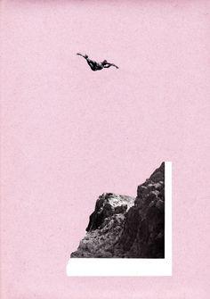 Sebastian Thomas — Jean-Baptiste Clamence Paper collage 2011