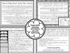 Elapsed Time Task Cards with Cooperative Learning Games for Task Cards