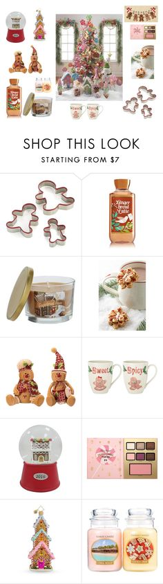 """Gingerbread"" by fashion2religion ❤ liked on Polyvore featuring interior, interiors, interior design, home, home decor, interior decorating, Crate and Barrel, Anthropologie, Lenox and Threshold"