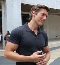 I want David Muir to do really nasty things to me…