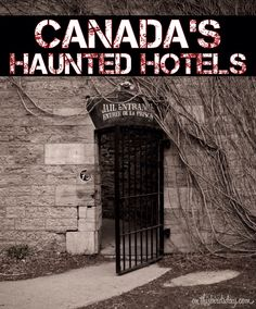 In search of haunted hotels in Canada? Here are a few reportedly haunted places you can close your weary eyes – if you dare. Haunted House Stories, Real Haunted Houses, Creepy Houses, Haunted Hotel, Most Haunted, Spooky Places, Haunted Places, Old Abandoned Buildings, Abandoned Places