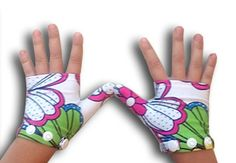 Glovey Huggey ~ Rainbow Love ~ Gloves to help stop thumb sucking $29.99