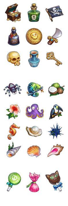 Zombie Icons on Behance: