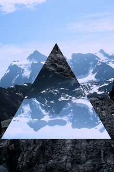 Triangles and other shapes, landscape