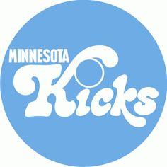 Minnesota Kicks Alternate Logo (1976-1981)