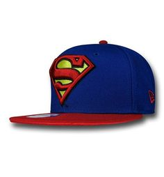 The Superman Symbol Kids Blue 9Fifty Capis for only the super-est of kids! Most super? Eh, either way for pretty super kids who lover Superman! Buy now!