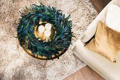 Ideas fantásticas para hacer centros navideños con velas