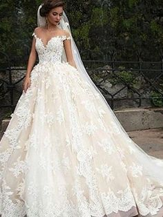 Wonderful Perfect Wedding Dress For The Bride Ideas. Ineffable Perfect Wedding Dress For The Bride Ideas. Black Wedding Dresses, Bridal Dresses, Wedding Gowns, Ivory Wedding, Tulle Wedding, Mermaid Wedding, Modest Wedding, Bridal Lace, Trendy Wedding