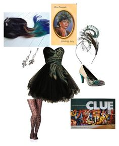 """""""Ms. Peacock"""" by econversee ❤ liked on Polyvore featuring Amy Money and T.U.K."""