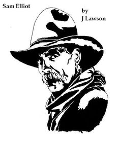 Sam Elliot Cowboy 2.PATTERN - People - User Gallery - Scroll Saw Village
