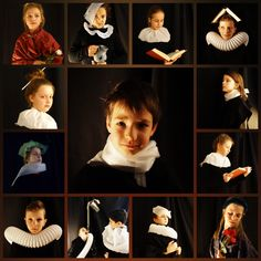 Rembrandt, Pastel Portraits, Photo Art, Amsterdam, Teaching, Education, School, Projects, Pictures