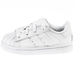 ADIDAS SUPERSTAR FOUNDATION INFANT B23663 White Shell Shoes Toddler Baby Size 5