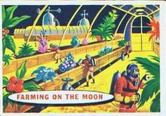 Space Cards #61: Farming On The Moon