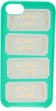 Kate Spade Admit One iPhone Case