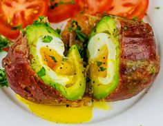 It's a poached egg inside an avocado, wrapped in crispy prosciutto. You'll never want anything different for breakfast again.