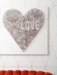 Add a touch of Valentine's Day style to your decor! Our DIY projects and crafts include heart-shaped string art, paper flowers, cards, centerpieces, wreaths, and more. These decorations and gifts are perfect for kids and adults alike!