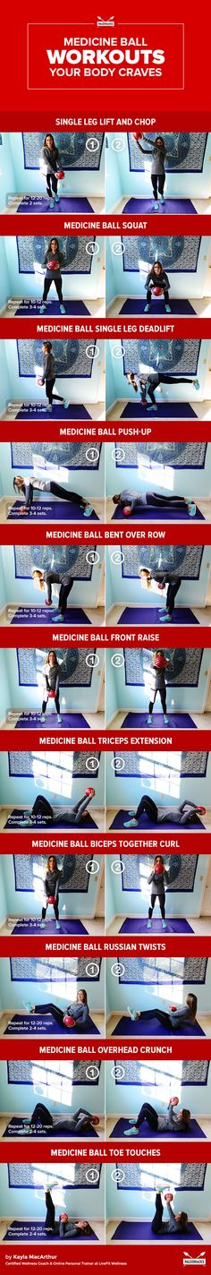 Fitter, #stronger, healthier with these 26 easy-to-follow exercises: http://paleo.co/26medball  #paleohacks #fitness