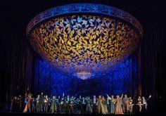Die Fledermaus. Metropolitan Opera. Scenic design by Robert Jones.