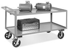 Uline Jumbo Steel Carts