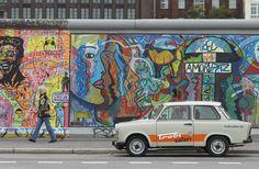 How to Drive Around Berlin in an East German Trabi #berlinwall