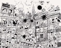 Mario Miranda Prints | Buy Mario Miranda Prints Online