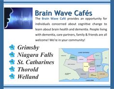 Living With Dementia, Niagara Region, Brain Waves, Brain Health, Friends Family, Ontario, Community, Learning, Teaching