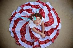 The Peppermint Swirl Dress | Craftsy