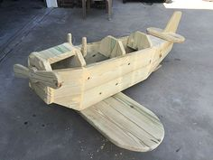 How to Build an Adorable Wooden Airplane Play Structure
