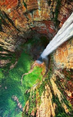Angels falls in Venezuela Highest waterfall in the world