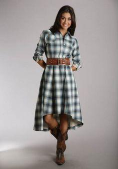 Super Cute Western Dress