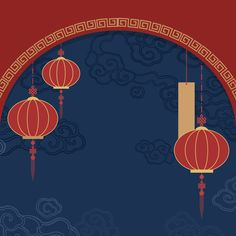 Chinese new year mockup illustration Free Vector Chinese New Year Poster, Chinese New Year Design, Chinese New Year 2020, New Years Poster, Chinese New Year Background, New Years Background, New Year Backdrop, New Year Illustration, Illustrations