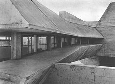 french supermarkets / gem shopping mall by claude parent domus, dec 73