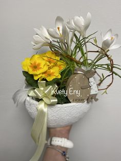 Kvety Eny Easter, Table Decorations, Home Decor, Homemade Home Decor, Decoration Home, Dinner Table Decorations, Interior Decorating, Center Pieces