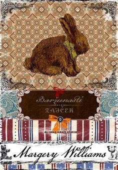 Book Cover Baržunasti zajček