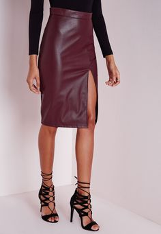 Pin by Paul Day on Stuff to Buy 1 | Pinterest | Faux leather skirt ...
