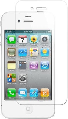 Chevron Tempered Glass Screen Protector For Apple iPhone 4S