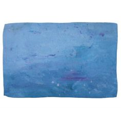 Rain on Lake Towel